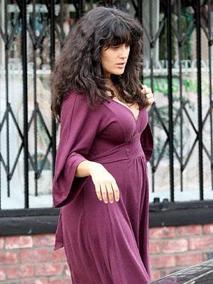 Salma Hayek gorda o embarazada