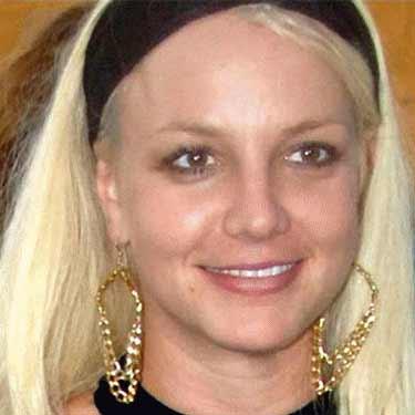 Britne Spears sin maquillaje