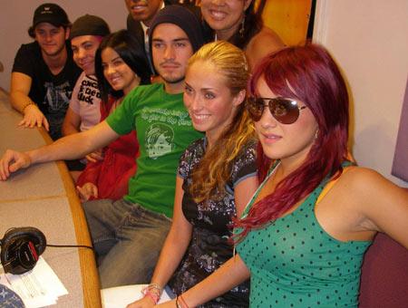 RBD en radio amor 93.1