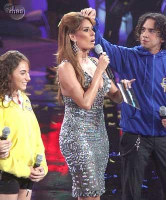 Galilea Montijo buscando a timbiriche la nueva banda