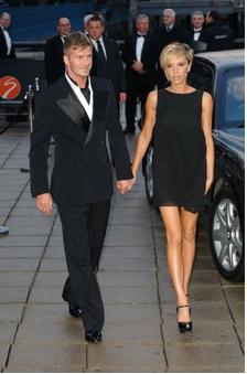 David Beckham an d wife