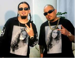 Cruz Martinez y AB Quintanilla