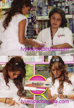 Galilea embarazada prueba embarazo