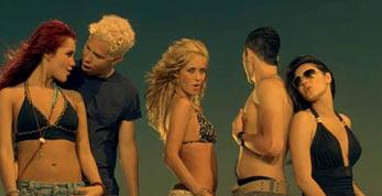RBD topless poncho