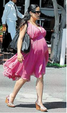 Salma Hayek embarazada pregnant