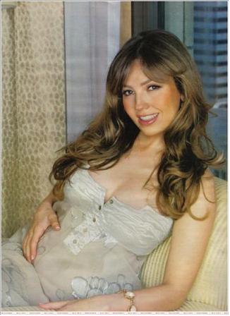 Thalía embarazada