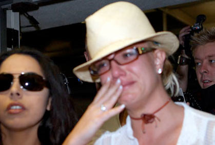 britney spears cry