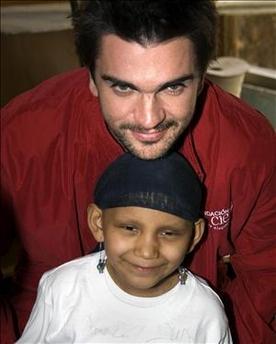 Juanes se encuentra en México