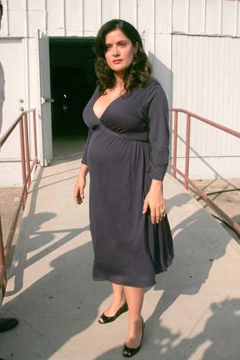 Salma hayek pregnant embarazada