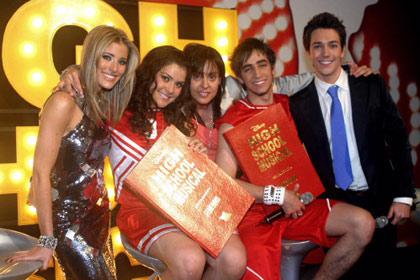 Mariana y Cristóbal los ganadores de High School Musical