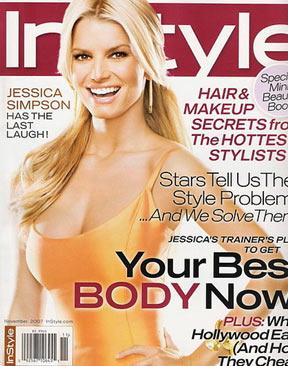 Jessica Simpson en revista In style