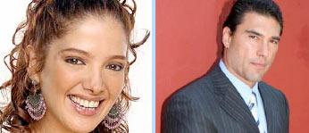 Adela Noriega y Eduardo Yáñez