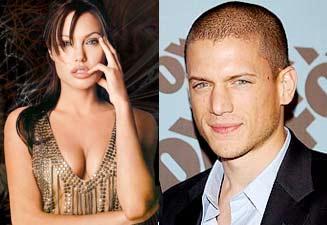 Angelina Jolie y Wentworth Miller