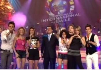 La Nueva Banda Timbiriche en el Primer Campeonato Internacional de Baile