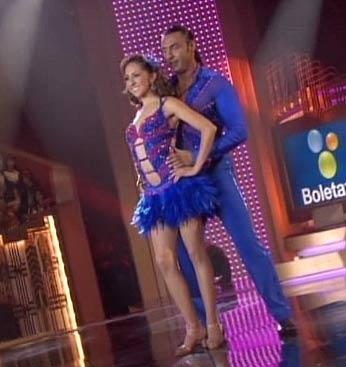 Latin Lover y Mariana en bailando