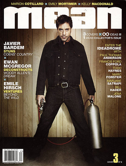 Javier Bardem en la revista Mean