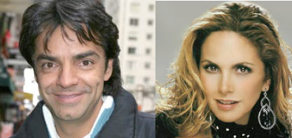 Eugenio Derbez y Lucero
