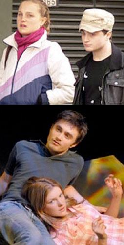 Daniel Radcliffe y su novia mayor Laura O´Toole