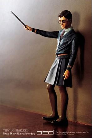 Harry Potter con falda figura
