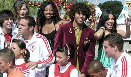 High School Musical celebra la navidad en Disneyland