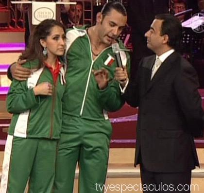 Latin Lover y Mariana en Primer Campeonato Internacional de Baile.