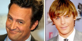 Matthew Perry será Zac Efron en película Seventeen