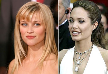 Reese Witherspoon  Angelina Jolie