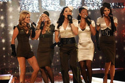 Las Spice Girls  Victoria Secret