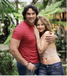 Susana González y Eduardo Santamarina