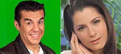 Adrián Uribe y Alexandra Rosaldo