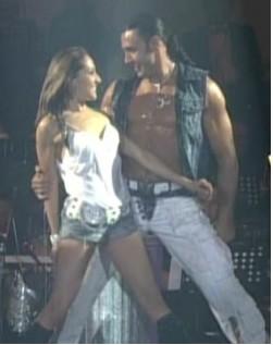 Latin Lover y Mariana en Primer Campeonato Internacional de Baile