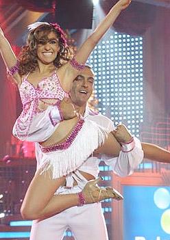 Latin Lover y Mariana en Bailando Internacional