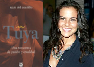 Kate del Castillo presenta su libro Tuya