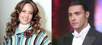 Latin Lover y  Andrea Legarreta
