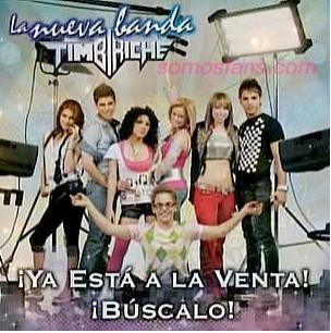 La Nueva Banda Timbiriche cd portada cd cover