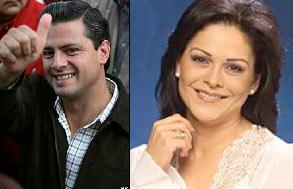 Enrique Peña Nieto Gobernador del Edo. de México será testigo de Mara Patricia Castañeda