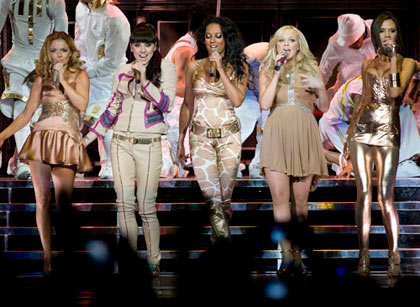 Spice Girls Vancouver 2007