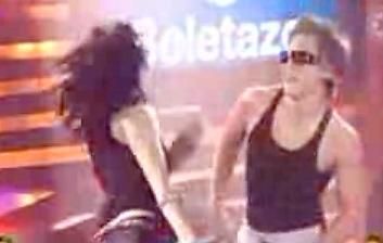 Yurem y Allison bailando