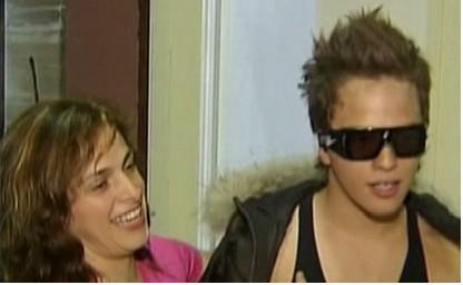 Yurem y su mamá Rita