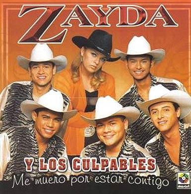 Zayda y los Culpables cd cover portada