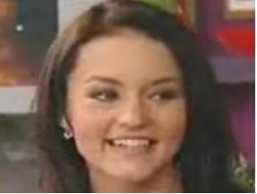 Angelique Boyer con el cabello negro