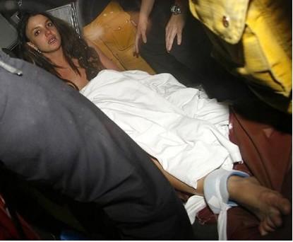 Britney Spears en hospital