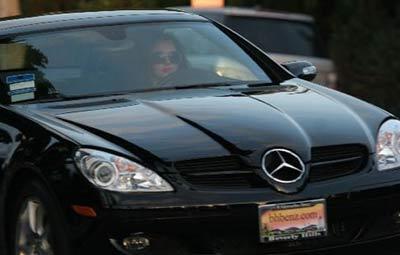 El nuevo Mercedes de Britney Spears
