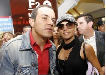 Cuauhtemoc Blanco y Rossana Najera
