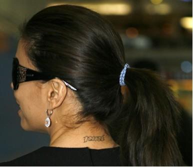 El nuevo tatuaje de Eva Longoria