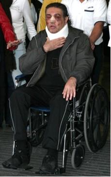 Fabian Lavalle golpeado