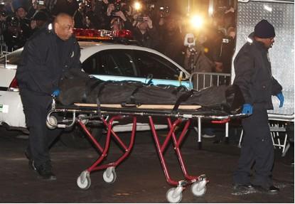 Cuerpo de actor Heath Ledger muerto
