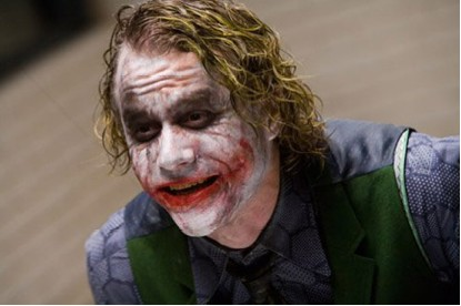El actor Heath Ledger rip
