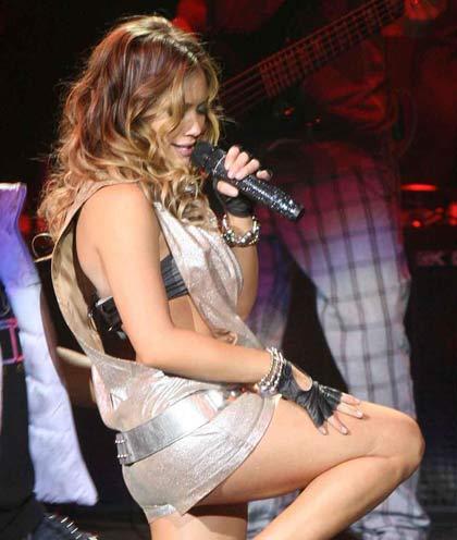 Imágenes de Hilary Duff en Puebla
