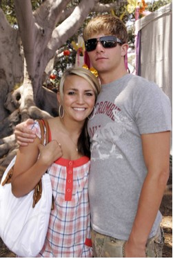 Jaime Lynn Spears and boyfriend